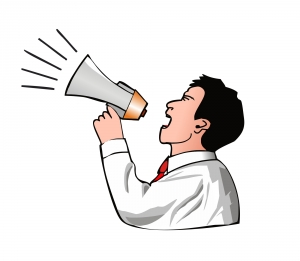 man-with-a-megaphone-1-1378633-m